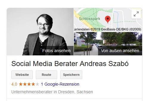 Google My Business erhöht die Sichtbarkeit deines Unternehmens deutlich, so bearbeitest und optimierst du den Eintrag.