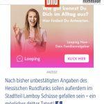 Zu Hanau machten schnell Gerüchte die Runde, die sogar der Hessische Rundfunk verbreitete. (Screenshot: Bild.de)